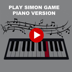 Simon game - Piano version