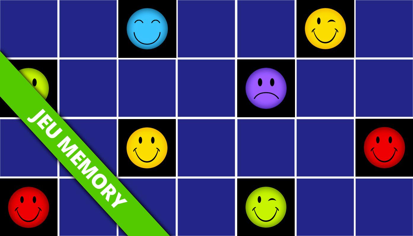 Jeu De Memory Adulte Smiley En Ligne Et Gratuit