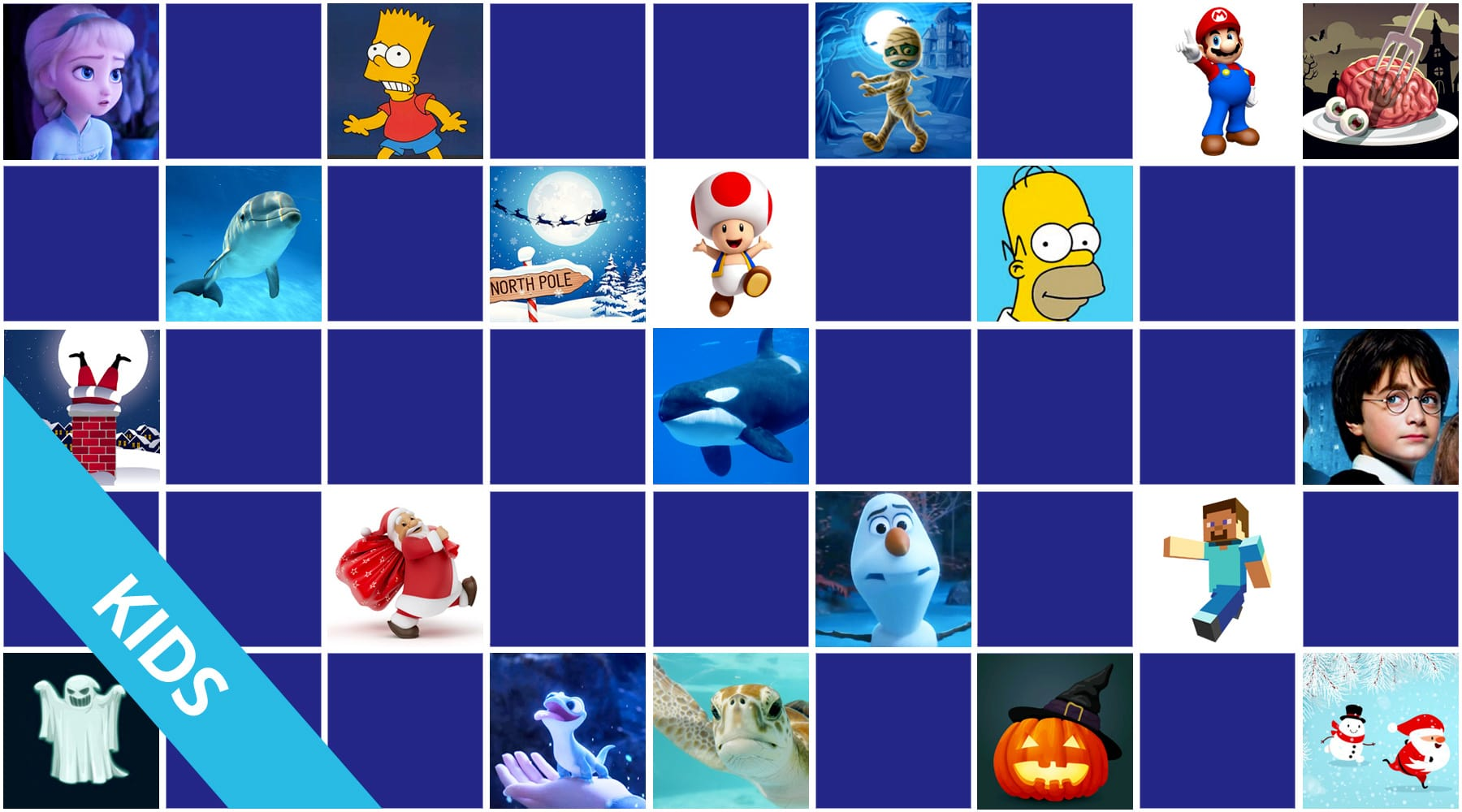 Great online memory games for kids - Free games - Come and ...