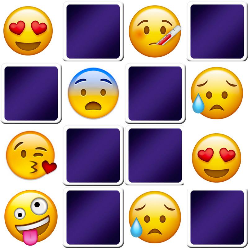 Emoji Memory Game For Adults