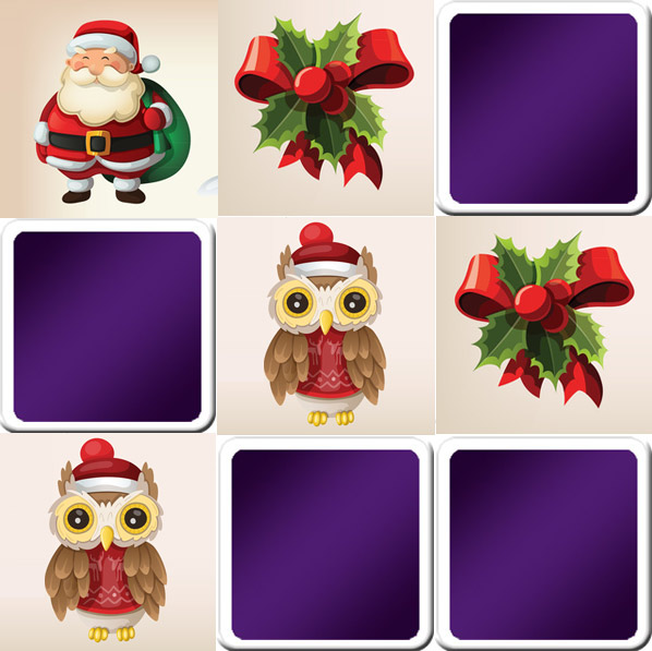 Play Matching Game For Kids Christmas Online Free Memozor