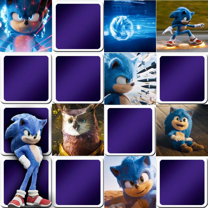 Play Memory Game For Kids Sonic The Hedgehog Online Free Memozor