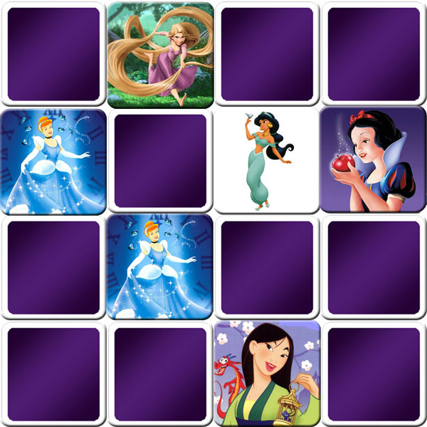 great memory game for girls disney princesses online and free game